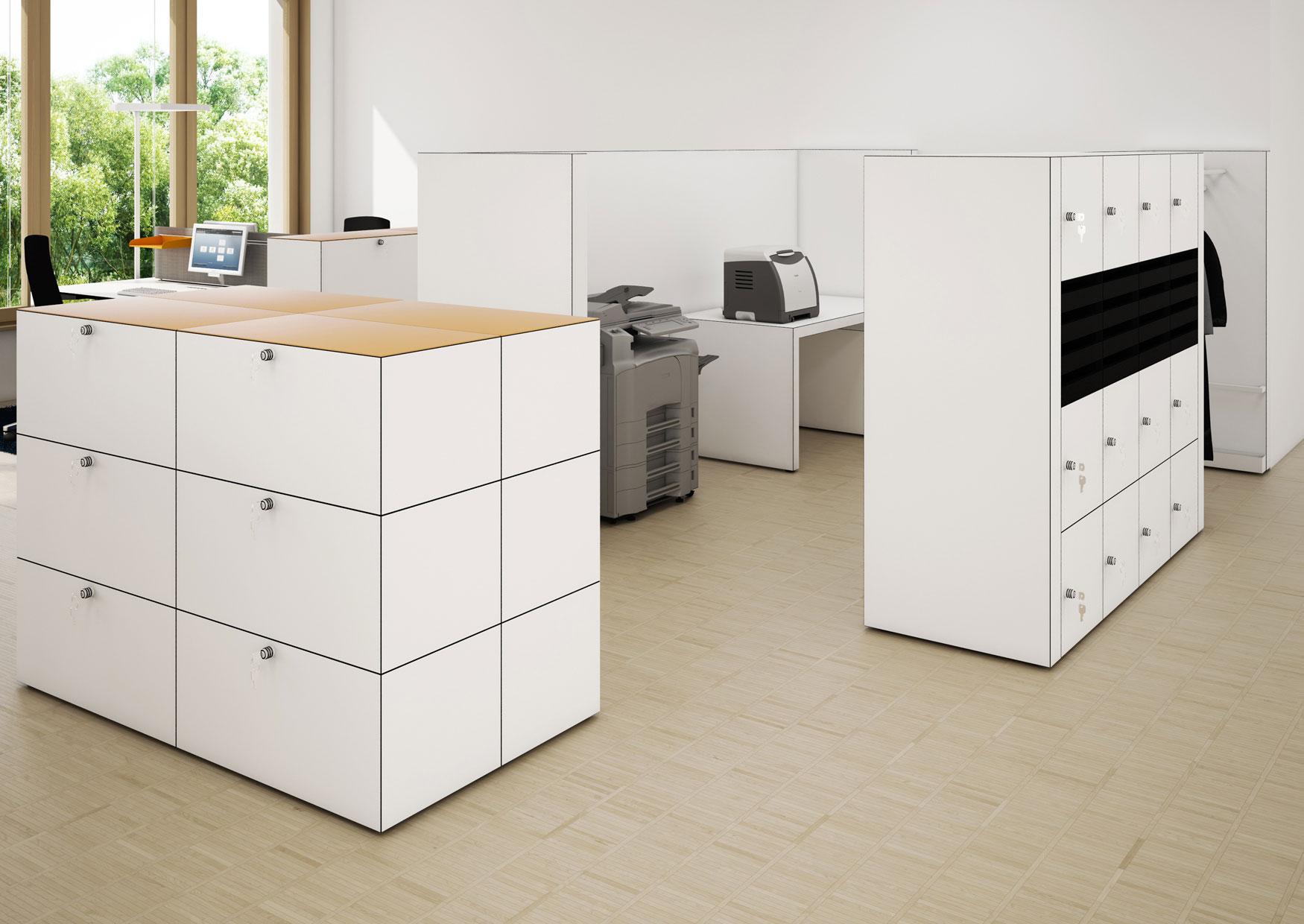 Dobergo - Druckerpool - Garberobe