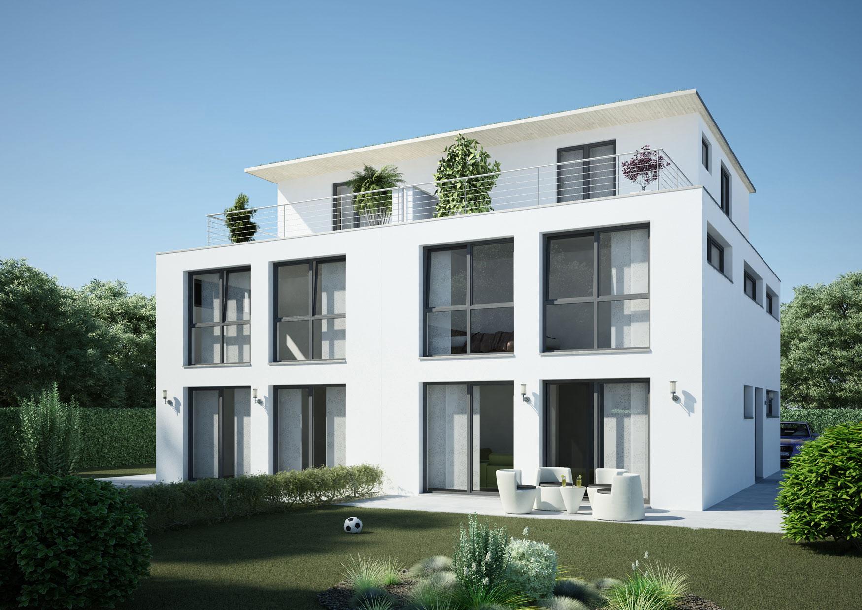 Select Massivhaus - Doppelhaus